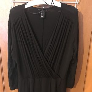 Like New V-Neck 3/4 Sleeve H&M Size M LBD